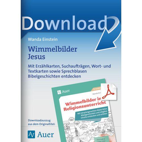 Auer Verlag Wimmelbilder Jesus