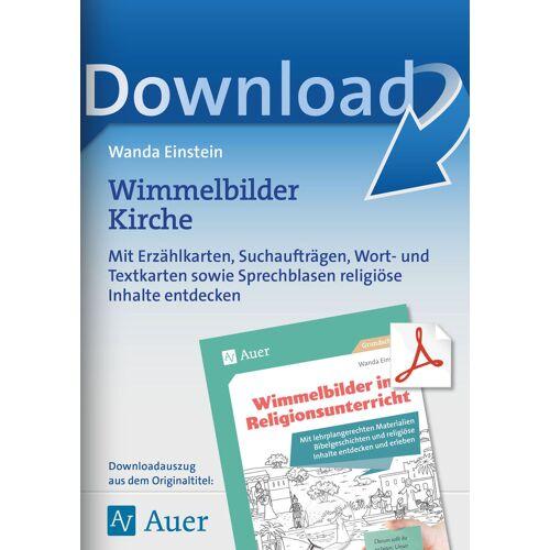 Auer Verlag Wimmelbilder Kirche