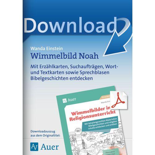 Auer Verlag Wimmelbild Noah