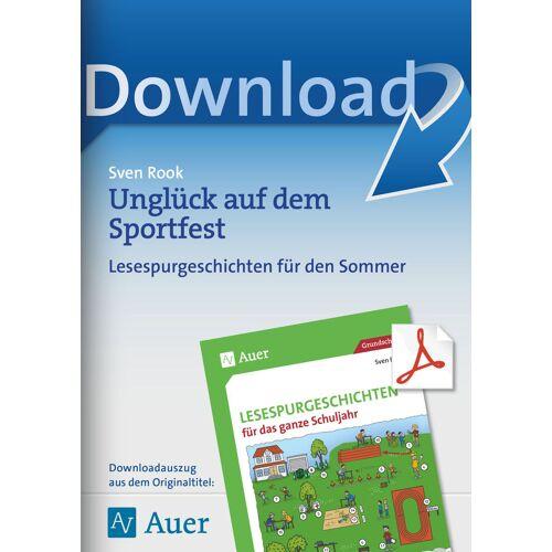 Auer Verlag Unglück auf dem Sportfest