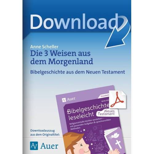 Auer Verlag Die 3 Weisen aus dem Morgenland