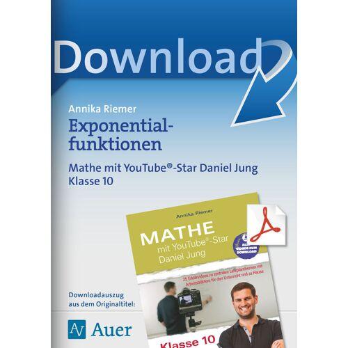 Auer Verlag Exponentialfunktionen