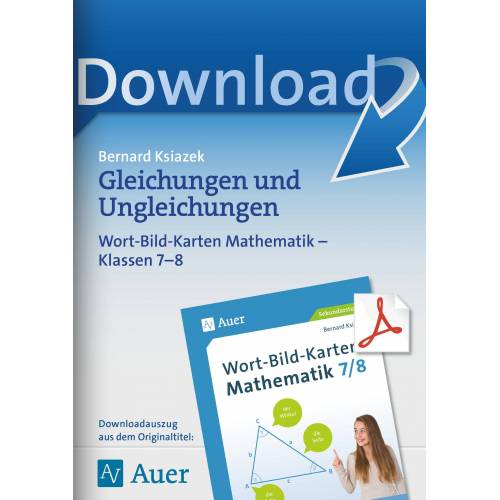 Auer Verlag Gleichungen und Ungleichungen