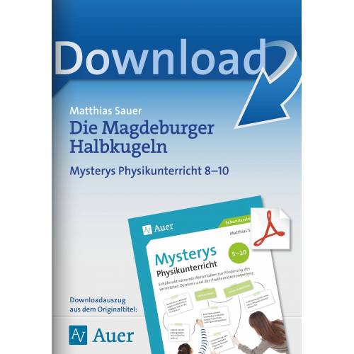 Auer Verlag Die Magdeburger Halbkugeln