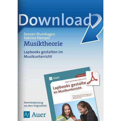 Auer Verlag Musiktheorie