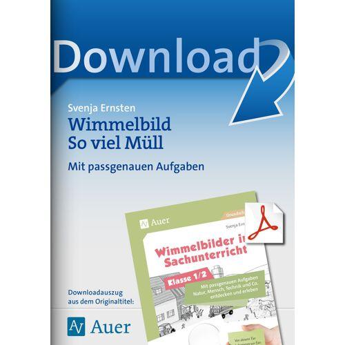 Auer Verlag Wimmelbild So viel Müll