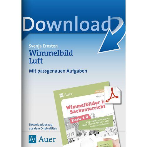 Auer Verlag Wimmelbild Luft