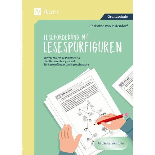 Auer Verlag Leseförderung mit Lesespurfiguren