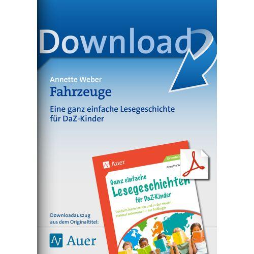 Auer Verlag Fahrzeuge