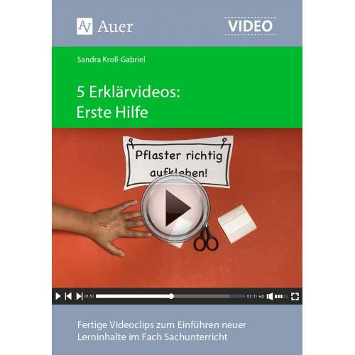 Auer Verlag 5 Erklärvideos Erste Hilfe