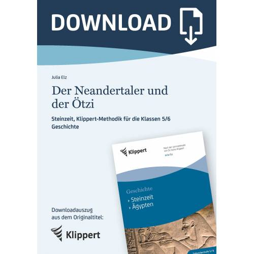 Klippert Der Neandertaler und der Ötzi