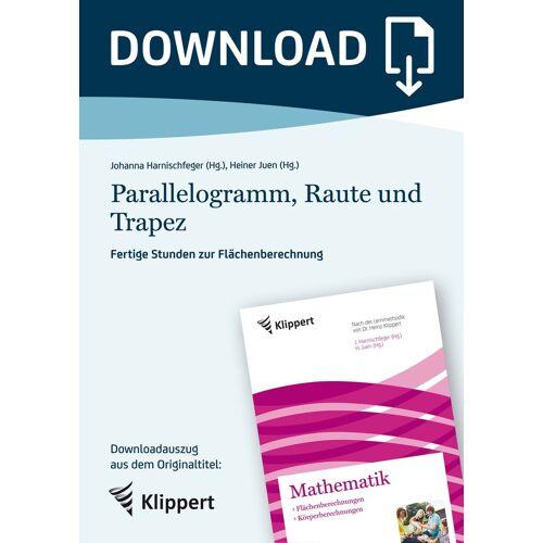 Klippert Parallelogramm, Raute und Trapez