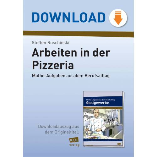 AOL-Verlag Arbeiten in der Pizzeria