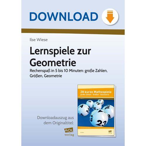 AOL-Verlag Lernspiele zur Geometrie