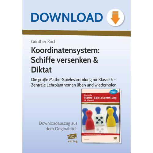 AOL-Verlag Koordinatensystem: Schiffe versenken & Diktat