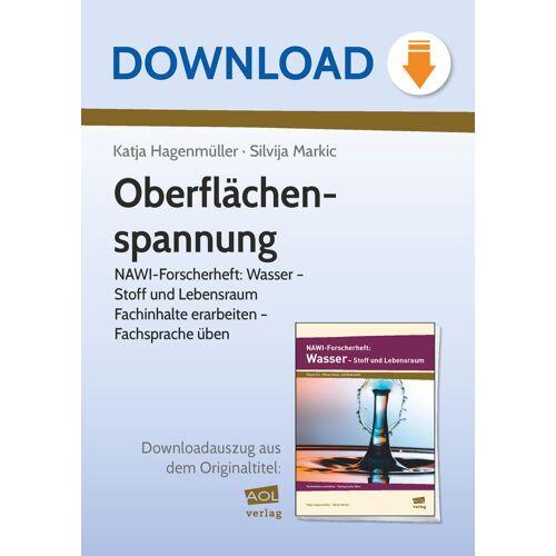 AOL-Verlag Oberflächenspannung