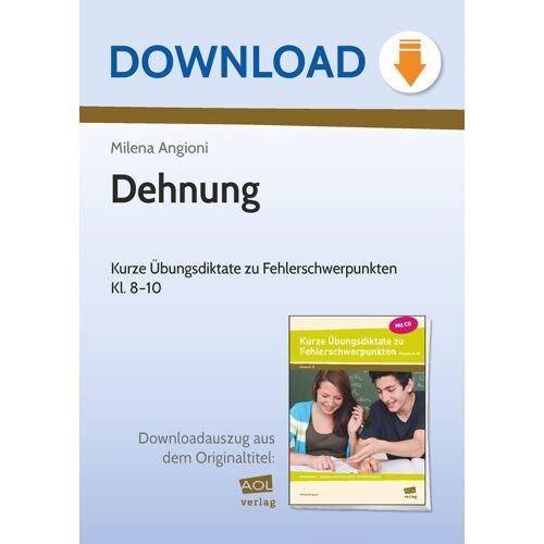 AOL-Verlag Dehnung