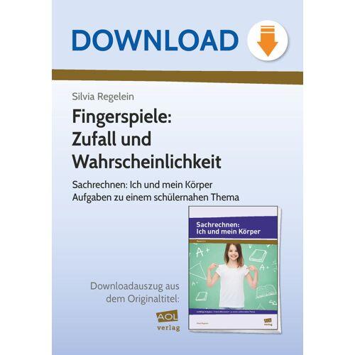 AOL-Verlag Fingerspiele: Zufall und  Wahrscheinlichkeit