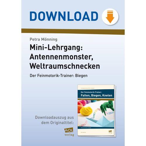 AOL-Verlag Der Feinmotorik-Trainer: Biegen 1