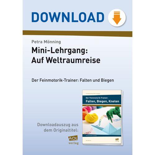 AOL-Verlag Der Feinmotorik-Trainer: Falten & Biegen