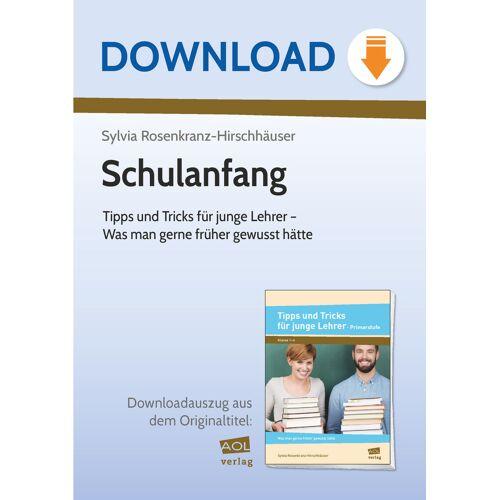 AOL-Verlag Schulanfang