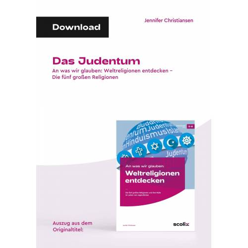 AOL-Verlag Das Judentum