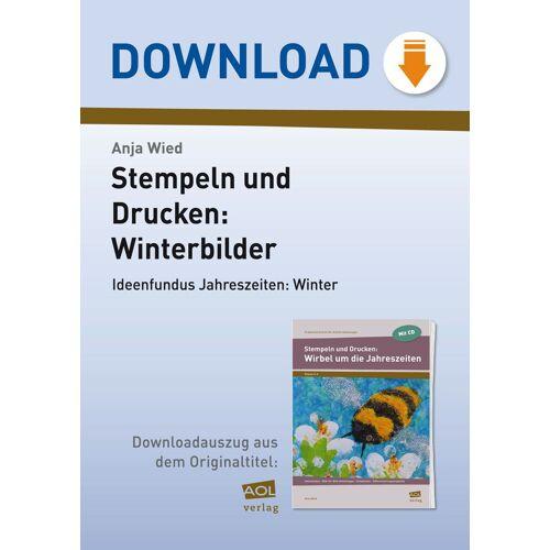 AOL-Verlag Stempeln und Drucken: Winterbilder