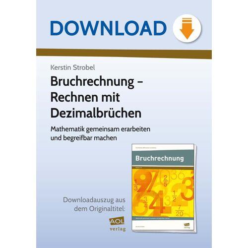 AOL-Verlag Bruchrechnung - Rechnen mit Dezimalbrüchen