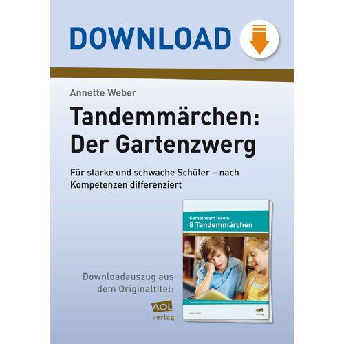 AOL-Verlag Tandemmärchen: Der Gartenzwerg