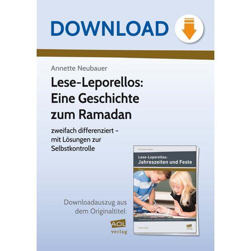 AOL-Verlag Lese-Leporellos: Eine Geschichte zum Ramadan