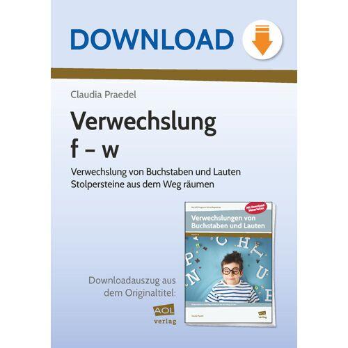 AOL-Verlag Verwechslung f   w