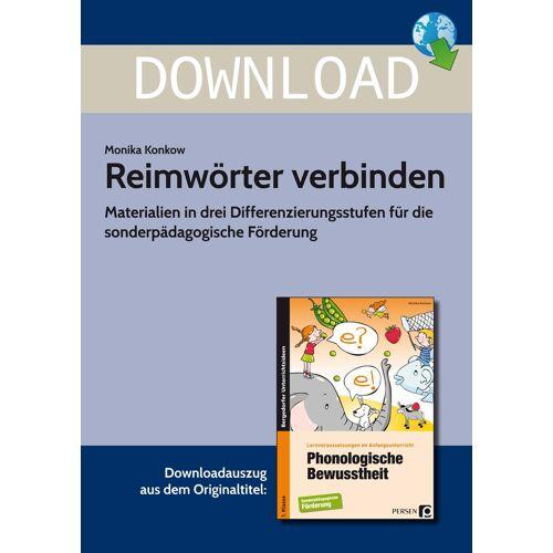 Persen Verlag Reimwörter verbinden
