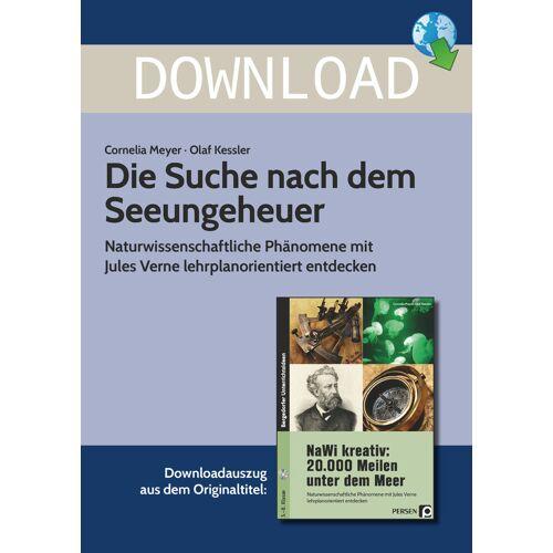Persen Verlag Die Suche nach dem Seeungeheuer