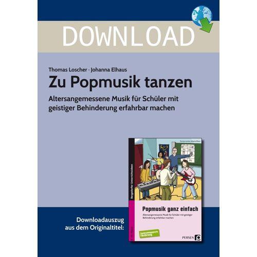 Persen Verlag Zu Popmusik tanzen