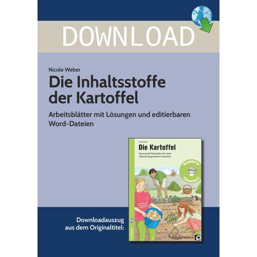 Persen Verlag Die Inhaltsstoffe der Kartoffel