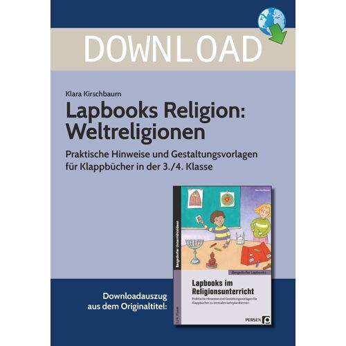 Persen Verlag Lapbooks Religion: Weltreligionen