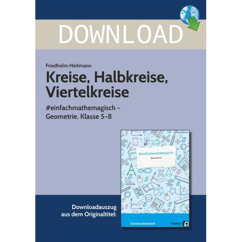 Persen Verlag Kreise, Halbkreise, Viertelkreise