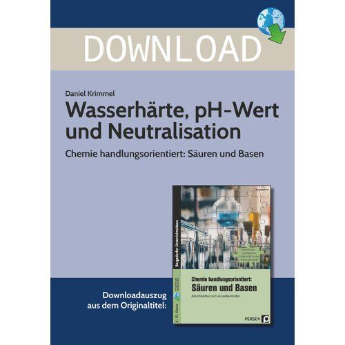 Persen Verlag Wasserhärte, pH-Wert und Neutralisation