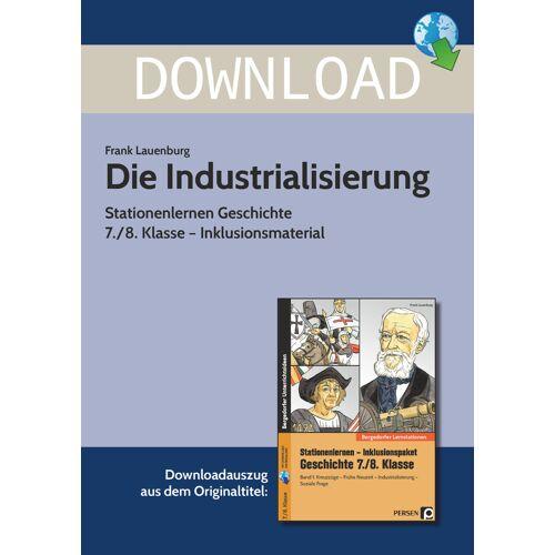 Persen Verlag Die Industrialisierung