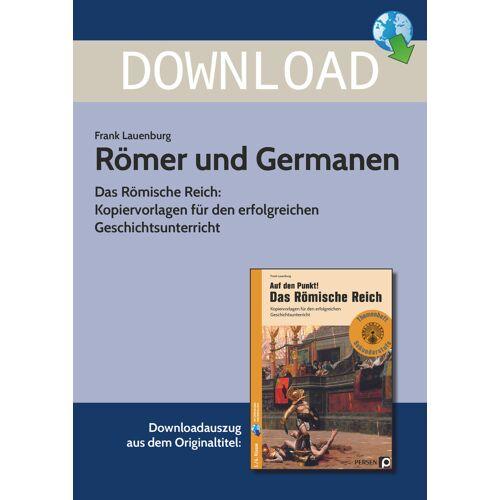 Persen Verlag Römer und Germanen