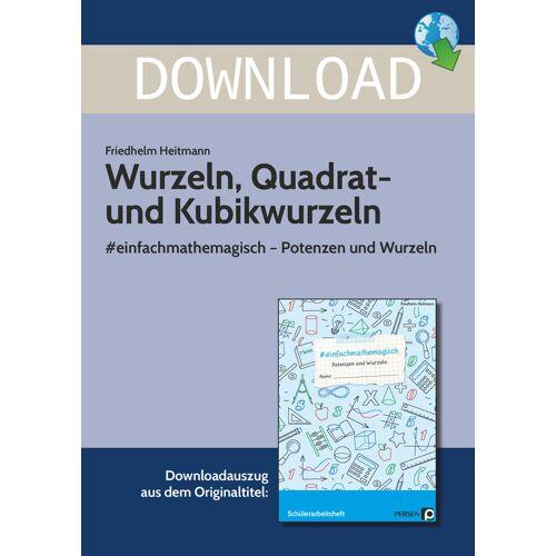 Persen Verlag Wurzeln, Quadrat- und Kubikwurzeln