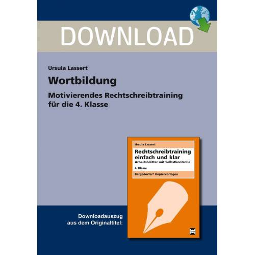 Persen Verlag Wortbildung - 4. Kl.