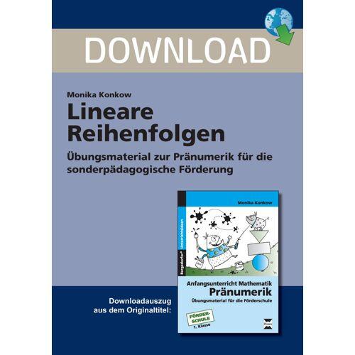 Persen Verlag Lineare Reihenfolgen