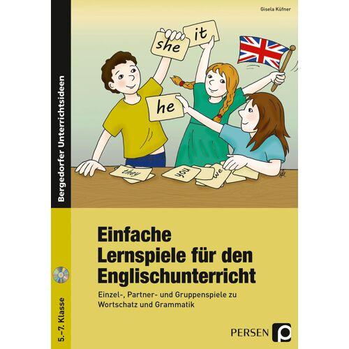 Persen Verlag Einfache Lernspiele für den Englischunterricht