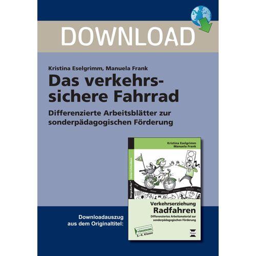 Persen Verlag Das verkehrssichere Fahrrad