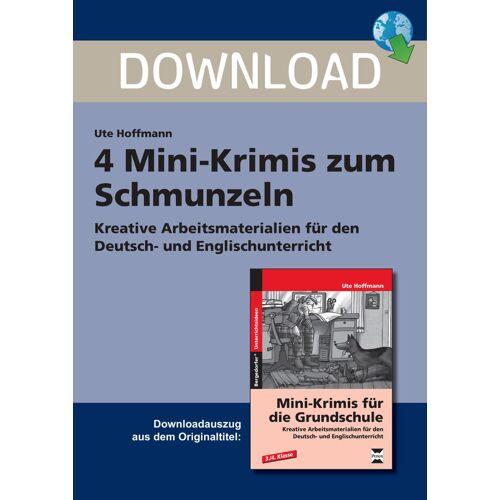 Persen Verlag 4 Mini-Krimis zum Schmunzeln
