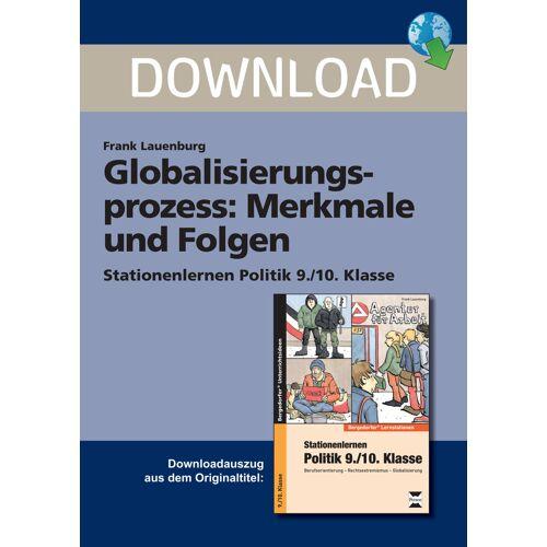 Persen Verlag Globalisierungsprozess: Merkmale und Folgen