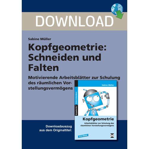 Persen Verlag Kopfgeometrie: Schneiden und Falten