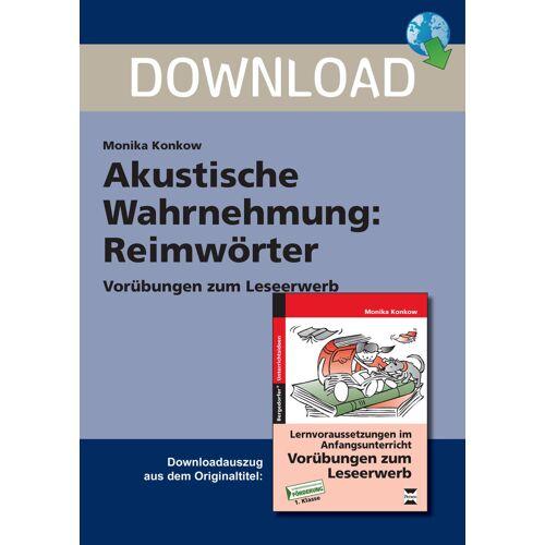 Persen Verlag Akustische Wahrnehmung: Reimwörter