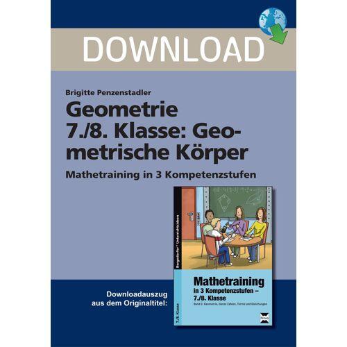 Persen Verlag Geometrie 7./8. Klasse: Geometrische Körper